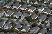 Aerial photograph of  Orlando Florida neighborhood, housing developments,