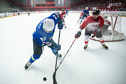 KURALT Anze (SLO) during OI pre-qualifications of Group G between Slovenia men's national ice hockey team and Japan men's national ice hockey team, on February 9, 2020 in Ice Arena Podmezakla, Jesenice, Slovenia. Photo by Peter Podobnik / Sportida