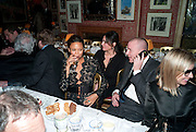 THANDIE NEWTON; GUY RITCHIE, Graydon Carter hosts a diner for Tom Ford to celebrate the London premiere of ' A Single Man' Harry's Bar. South Audley St. London. 1 February 2010