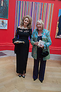 LADY WOLFSON; LADY SAINSBURY, Royal Academy of Arts Annual dinner. Piccadilly. London. 29 May 2012.