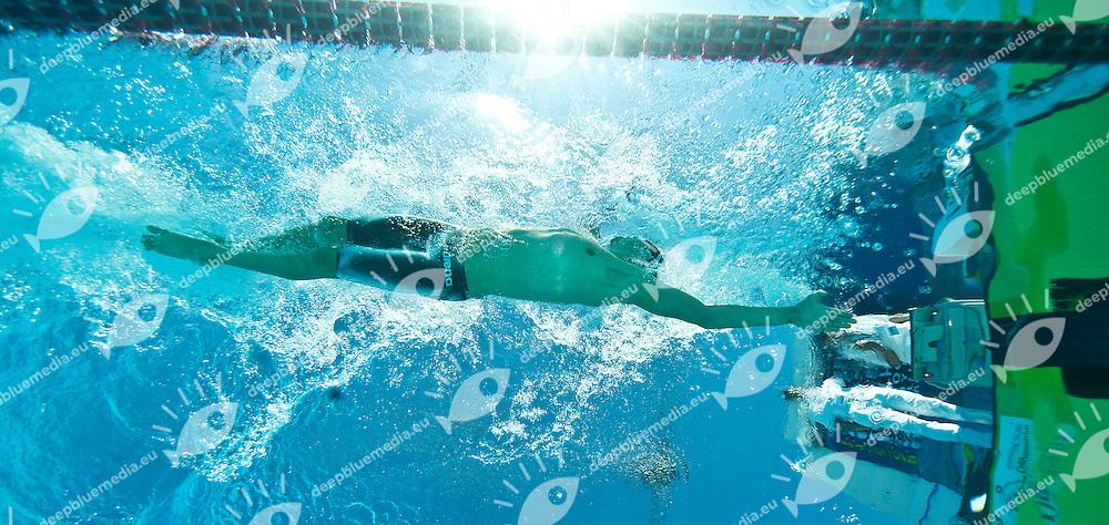PIZZETTI Samuel ITA <br /> 400 Freestyle<br /> 50 Settecolli Trofeo Internazionale di nuoto 2013<br /> swimming<br /> Roma, Foro Italico  12 - 15/06/2013<br /> Day01 Final<br /> Photo Diego Montano/Deepbluemedia/Insidefoto