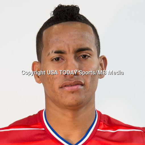 Feb 25, 2016; USA; FC Dallas player Michael Barrios poses for a photo. Mandatory Credit: USA TODAY Sports