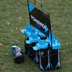 DURBAN, SOUTH AFRICA - MAY 15: General views during the Cell C Sharks training session at Jonsson Kings Park on May 15, 2018 in Durban, South Africa. (Photo by Steve Haag/Gallo Images)