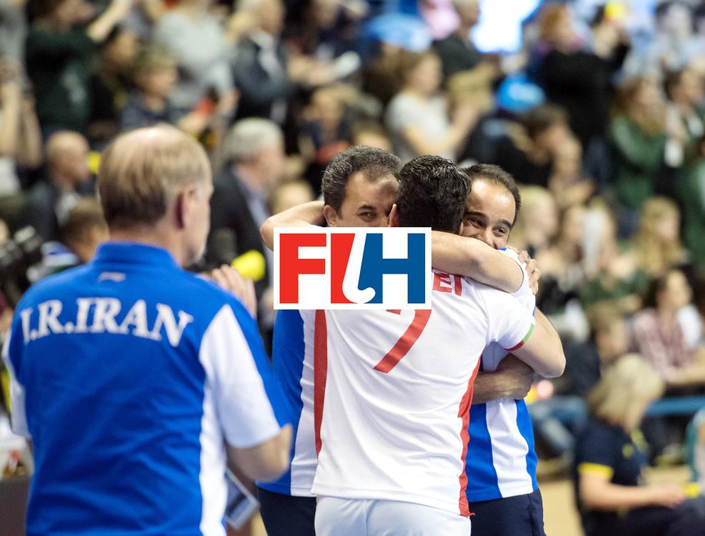 BERLIN - Indoor Hockey World Cup<br /> Bronze: Iran - Australia<br /> foto: Abbas Aroei <br /> WORLDSPORTPICS COPYRIGHT FRANK UIJLENBROEK