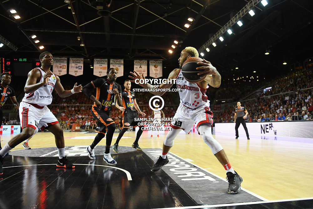 Zack Wright of Strasbourg during the Jeep Elite match between Strasbourg and Le Mans on June 2, 2018 in Strasbourg, France. (Photo by Sebastien Bozon/Icon Sport)