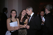 Angharad Bailey, Manfreda Cavazza and Stuart Rose. National Portrait Gallery  150th Anniversary Fundraising Gala. National Portrait Gallery. London. 28 February 2006. ONE TIME USE ONLY - DO NOT ARCHIVE  © Copyright Photograph by Dafydd Jones 66 Stockwell Park Rd. London SW9 0DA Tel 020 7733 0108 www.dafjones.com