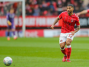Charlton Athletic midfielder David Davis (27) during the EFL Sky Bet Championship match between Charlton Athletic and Blackburn Rovers at The Valley, London, England on 15 February 2020.