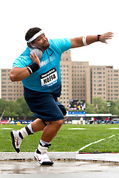 adidas Grand Prix track & field: Diamond League professional meet, mens shot put, Reese Hoffa, USA