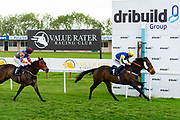 Red Alert ridden by Tom Marquand and trained by Tony Carroll in the Octagon Consultancy Handicap race. Coronation Cottage ridden by Charlie Bennett and trained by Malcolm Saunders in the Octagon Consultancy Handicap race.  - Ryan Hiscott/JMP - 24/05/2019 - PR - Bath Racecourse - Bath, England - Friday 24th May 2019 Race Meeting at Bath Racecourse