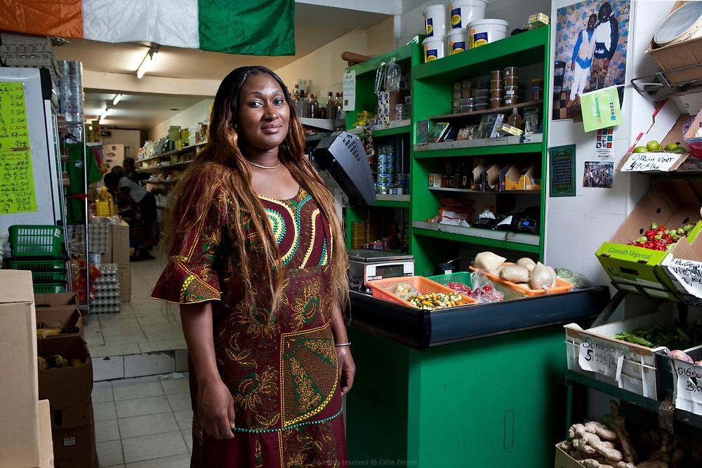 Abi et son mari Inza sont à la tête du Koyaka market dont le produit vedette est l'attiéké. Une farine de manioc aux vertus diététiques et sans gluten.