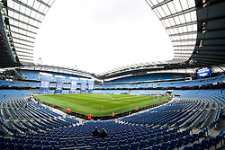 A general view of The Etihad Stadium - Mandatory byline: Matt McNulty/JMP - 07966386802 - 16/08/2015 - FOOTBALL - The Etihad Stadium -Manchester,England - Manchester City v Chelsea - Barclays Premier League