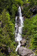 Ketchum Creek Falls at North Cascades National Park in Washington State, USA