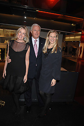 Left to right, GALEN & HILARY WESTON and their daughter ALANNAH WESTON at a party to celebrate the launch of Holly Peterson's debut novel 'The manny' held at Selfridges, Oxford Street, London on 26th February 2007.<br /><br />NON EXCLUSIVE - WORLD RIGHTS