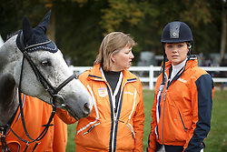 De Jong Sanne, (NED), Enjoy, Jantien Van Zon<br /> Jumping 6 years of age<br /> Mondial du Lion - Le Lion d'Angers 2015<br /> © Dirk Caremans<br /> 18/10/15