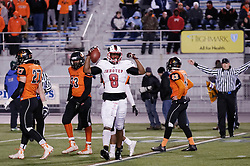 Tight End  Naseir 'Pop' Upshur of Imhotep Panthers in action at the December 18, 2015 PIAA 3A State Championship at Hersheypark Stadium. (photo by Bastiaan Slabbers)