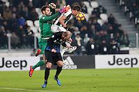 can - 11.01.2017 - Torino - Coppa Italia Tim  -  Juventus-Atalanta nella  foto: Mario Mandzukic e Berisha