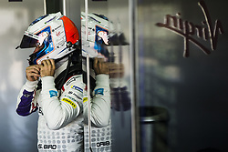 October 17, 2018 - Valencia, Spain - BIRD Sam (gbr), Envision Virgin Racing Team portrait during the Formula E official pre-season test at Circuit Ricardo Tormo in Valencia on October 16, 17, 18 and 19, 2018. (Credit Image: © Xavier Bonilla/NurPhoto via ZUMA Press)