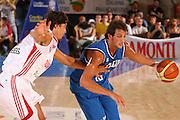 BORMIO 29 LUGLIO 2007<br /> BASKET NAZIONALE ITALIANA<br /> ITALIA-TURCHIA<br /> NELLA FOTO BELINELLI<br /> FOTO CIAMILLO-CASTORIA