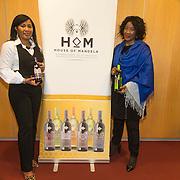 NLD/Amsterdam//20140319 - Presentatie House of Mandela wijnen, kleindochter Tukwini Mandela en Makaziwe Mandela