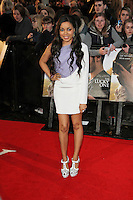 LONDON - APRIL 23: Dionne Bromfield attends the European Film Premiere of 'The Lucky One' at The Bluebird Restaurant & Bar, King's Road, Chelsea, London, UK. April 23, 2012. (Photo by Richard Goldschmidt)