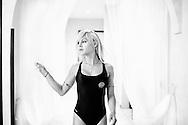 San Sebastiano al Vesuvio, 28 luglio 2011. Noemi, uno dei trans in concorso per il titolo di Miss Trans Campania 2011..Ph. Roberto Salomone Ag. Controluce.ITALY - Noemi, one of the transgenders partecipating to Miss Trans Campania beauty contest in San Sebastiano al Vesuvio on July 28, 2011.