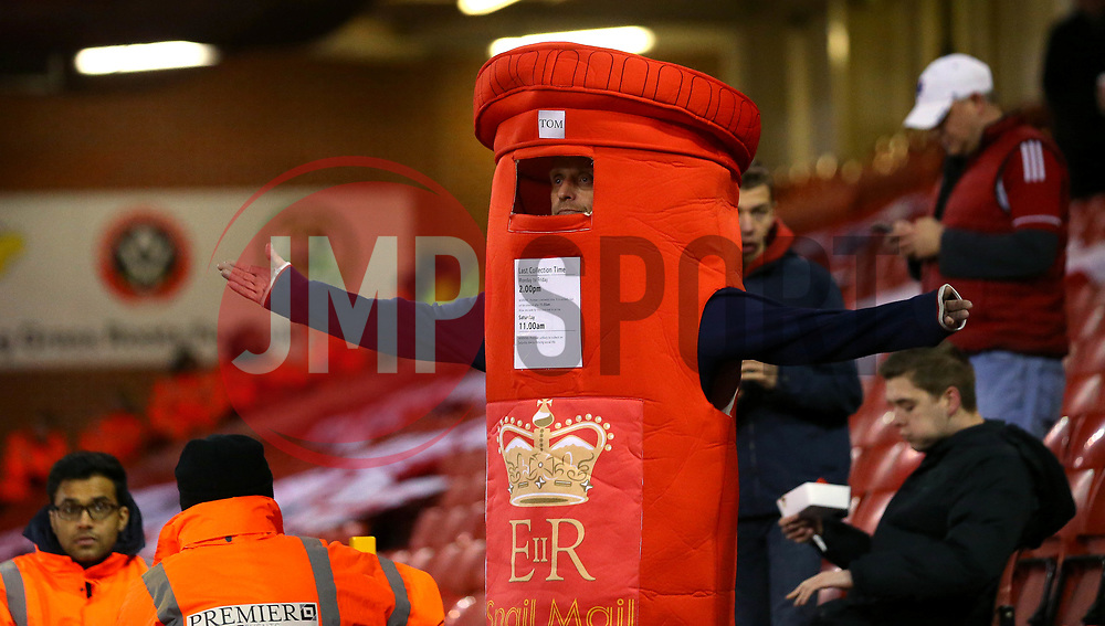 Bristol City fan in fancy dress at Sheffield United - Mandatory by-line: Robbie Stephenson/JMP - 08/12/2017 - FOOTBALL - Bramall Lane - Sheffield, England - Sheffield United v Bristol City - Sky Bet Championship