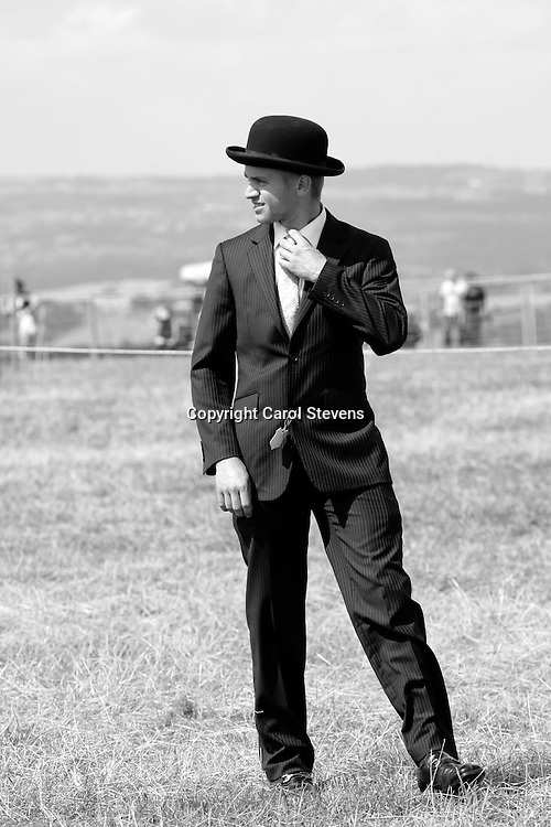 Emley Show 2012  Shire Classes<br /> Matthew Bedford<br /> Probationary Judge
