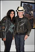 SERENA REES; PAUL SIMONON, Private view, Paul Simonon- Wot no Bike, ICA Nash and Brandon Rooms, London. 20 January 2015