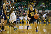 WACO, TX - DECEMBER 12:  Kevi Luper #15 of the Oral Roberts University Golden Eagles drives to the basket against the Baylor University Bears on November 13, 2012 at the Ferrell Center in Waco, Texas.  (Photo by Cooper Neill/Getty Images) *** Local Caption *** Kevi Luper
