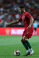 September 10, 2018 - Lisbon, Portugal - Portugal's forward Andre Silva in action during the UEFA Nations League A group 3 football match Portugal vs Italy at the Luz stadium in Lisbon, Portugal on September 10, 2018. (Credit Image: © Pedro Fiuza/ZUMA Wire)