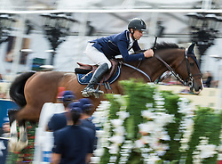 22.09.2013, Rathausplatz, Wien, AUT, Global Champions Tour, LGT Vienna Masters 2013 , Springreiten (1.50 / 1.55 m) 1. Durchgang, im Bild Richard Spooner (USA) auf Cristallo // during LGT Vienna Masters 2013 of Global Champions Tour, International Jumping Competition (1.50 / 1.55 m) First Round at Rathausplatz in Vienna, Austria on 2013/09/22. EXPA Pictures © 2013 PhotoCredit: EXPA/ Michael Gruber