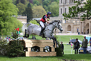 Katie Bleloch on Cavalier Micky Finn during the International Horse Trials at Chatsworth, Bakewell, United Kingdom on 12 May 2018. Picture by George Franks.