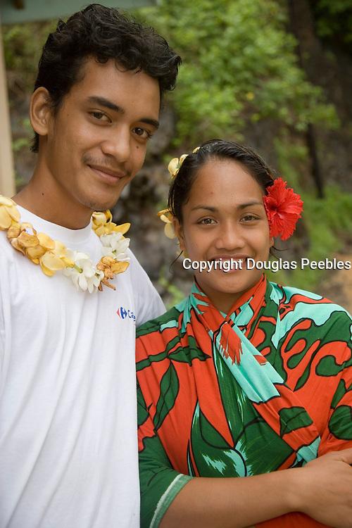 Puamau,  Hiva Oa, Marquesas Islands, French Polynesia, (Editorial use only)<br />