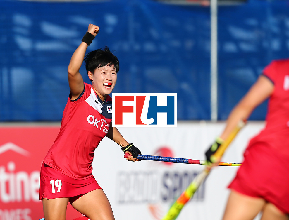 New Zealand, Auckland - 22/11/17  <br /> Sentinel Homes Women&rsquo;s Hockey World League Final<br /> Harbour Hockey Stadium<br /> Copyrigth: Worldsportpics, Rodrigo Jaramillo<br /> Match ID: 10303 - GER vs KOR<br /> Photo: (19) CHO Hyejin