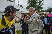 VALENTINO ROSSI; ARNAUD BAMBERGER, Goodwood Festival of Speed Cartier lunch. 27 June 2015