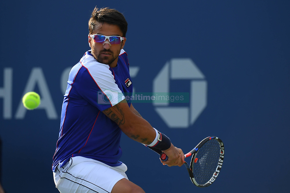 August 28, 2017 - New York, USA - Janko Tipsarevic  (Credit Image: © Panoramic via ZUMA Press)