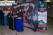 KELOWNA, CANADA - OCTOBER 22:  Promotions at the Kelowna Rockets game on October 22, 2017 at Prospera Place in Kelowna, British Columbia, Canada.  (Photo By Cindy Rogers/Nyasa Photography,  *** Local Caption ***