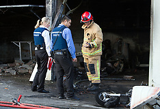 Auckland-Explosion and fire destroys Parnell garage