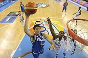 ALICANTE 03 SETTEMBRE 2007<br /> BASKET EUROPEI<br /> ITALIA-FRANCIA <br /> NELLA FOTO GIGLI<br /> FOTO CIAMILLO-CASTORIA