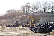 Saneringsarbete av radioaktivitet i Fukushima Prefektur, Japan<br /> <br /> Removal of radiation contaminated soil in Fukushima Prefecture, Japan.