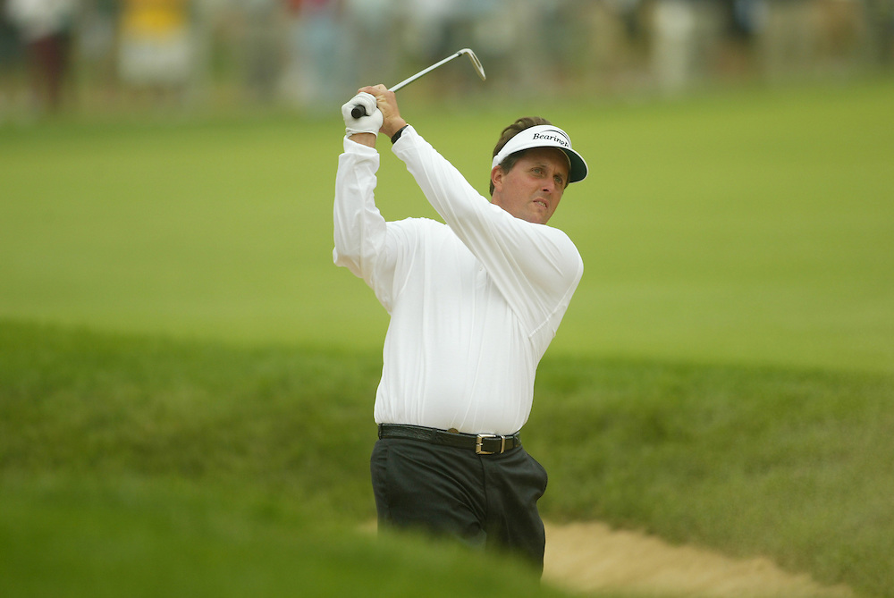 Phil Mickelson..2003 U.S. Open..Second Round..Olympia Fields CC..Chicago, IL..Friday June 13 2003..photograph by Darren Carroll