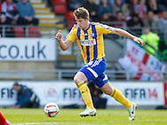 James Tarkowski of Brentford during the Sky Bet League 1 match at the Matchroom Stadium, London<br /> Picture by Mark D Fuller/Focus Images Ltd +44 7774 216216<br /> 15/03/2014