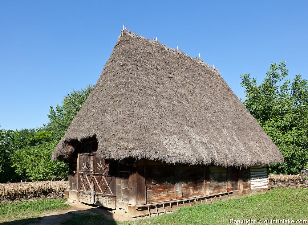 Dimitrie Gusti National Village Museum (Muzeul Satului) in Bucharest, Romania