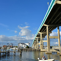 Matanzas Pass Bridge in Fort Myers Beach, Florida<br />
