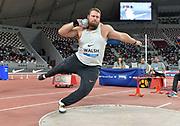 Tom Walsh aka Tomas Walsh (NZL) places second in the shot put at 72-4 1/2 (22.06m) during the IAAF Doha Diamond League 2019 at Khalifa International Stadium, Friday, May 3, 2019, in Doha, Qatar