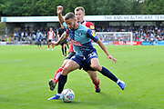 Wycombe Wanderers Nick Freeman (22)  during the EFL Sky Bet League 1 match between Wycombe Wanderers and Lincoln City at Adams Park, High Wycombe, England on 7 September 2019.
