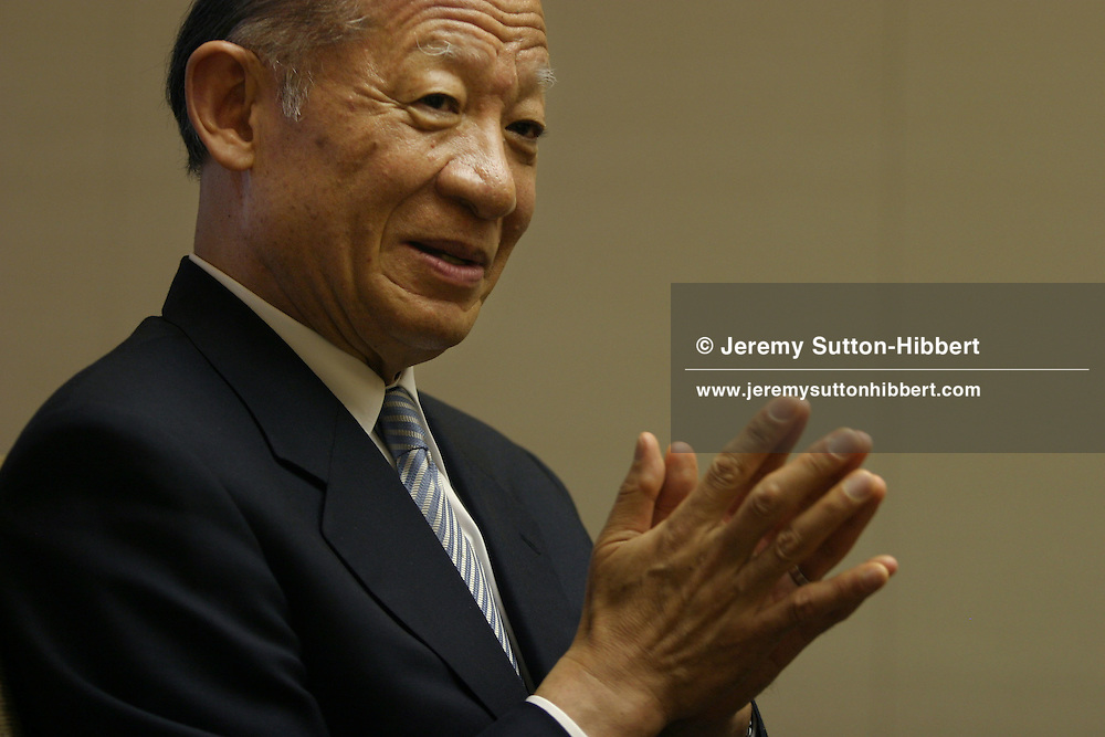 Taizo Nishimuro, President and CEO of Tokyo Stock Exchange, in an interview, Monday, June 26th 2006, in Tokyo, Japan,