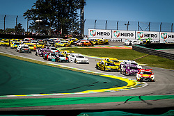 December 9, 2018 - SãO Paulo, Brazil - SÃO PAULO, SP - 09.12.2018: HERO SUPER FINAL 2018 STOCK CAR - In the photo, the champion of the step Ricardo Zonta leads the race. The Stock Car? Hero Super Final 2018, is in Interlagos, in the south zone of the capital, this Sunday (09), for the big decision of the season of the main category of motorsport in Brazil. (Credit Image: © Aloisio Mauricio/Fotoarena via ZUMA Press)