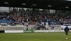 Vaduz 2 v 0 Falkirk FC at the Rheinpark Stadium for their Europa League second-round qualifier against Vaduz in Liechtenstein.<br /> ©2009 Michael Schofield. All Rights Reserved.