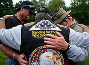 May 28, 2010 - Washington, District of Columbia, U.S., - Rolling Thunder's Memorial Day weekend commemoration ceremonies began in Washington, D.C., as hundreds of members arrived at the Vietnam Veterans Memorial. Rolling Thunder Inc. is a non-profit organization which is dedicated to the search of American soldiers who are prisoners of war or missing in action. Rolling Thunder was established in 1987. (Credit Image: © Pete Marovich/ZUMA Press)